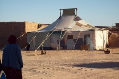 very old tent